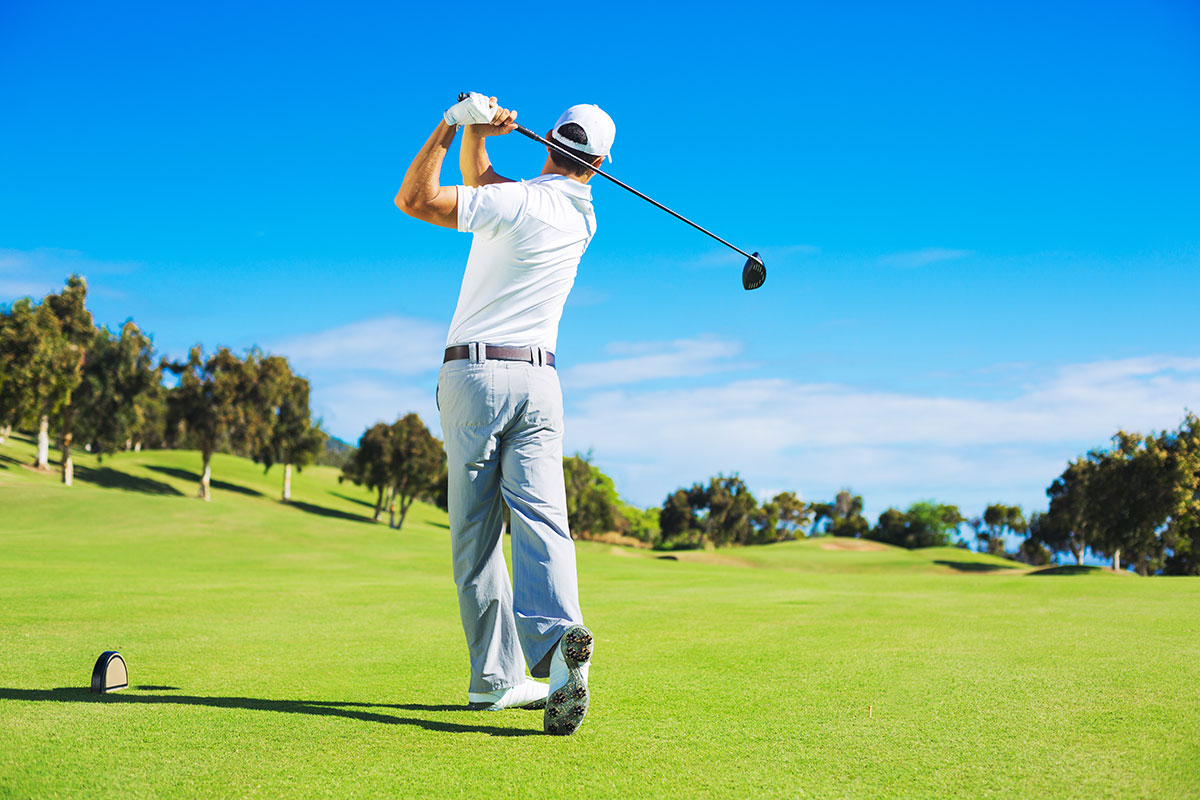 advice on succeeding in playing golf